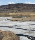 Lake Magadi, an alkaline lake that contains soda, is located in southern Kenya near the East African Rift. (Credit: University of New Mexico)