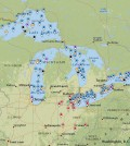 Sample of new Great Lakes Monitoring website. (Courtesy of Illinois-Indiana Sea Grant)