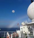 Radiosonde observations from RV Mirai over the ice-free Arctic Ocean. (Credit: Jun Inoue)