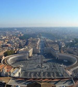 Saint Peter's Square, Rome. (Credit: Public Domain)