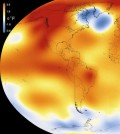 2015 was the warmest year since modern record-keeping began in 1880. (Credit: Scientific Visualization Studio / Goddard Space Flight Center)
