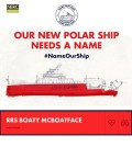 RSS Boaty McBoatface is currently leading the polls for the new NERC research vessel. (Credit: Natural Environmental Research Council)