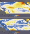 Researchers are looking into the differences between the 2015 El Niño and the 1997 El Niño. (Credit: NASA)