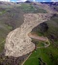 "A 1994 ""long-runout"" landslide in Mesa County, Colorado. (Credit: John White / Colorado Geological Survey)"