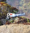 Sampling pump and a device to measure temperature, salinity and depth in a tide pool of the Bodega Marine Reserve. (Credit: Lester Kwiatkowski / Carnegie Institution for Science)
