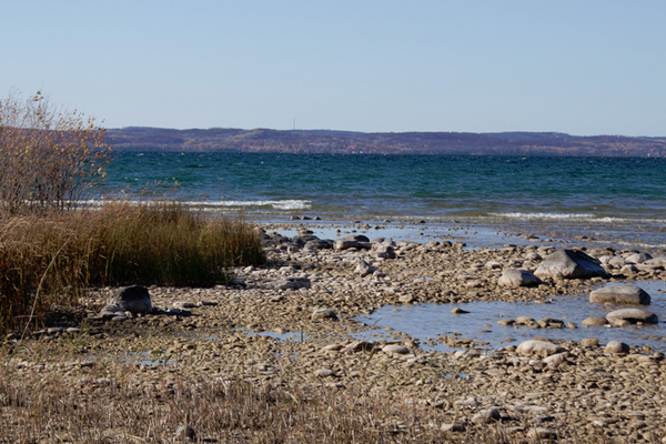 Lake Michigan beach. (Credit: Flickr User Tim Sackton via Creative Commons 2.0)