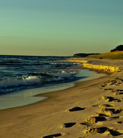 Lake Michigan coast. (Credit: Dustin Tinney via Creative Commons 2.0)