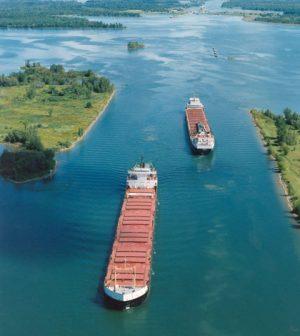 St. Lawrence Seaway oxygen