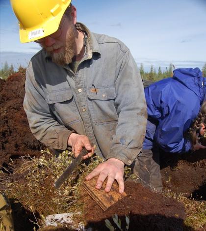 thawing permafrost soils arctic