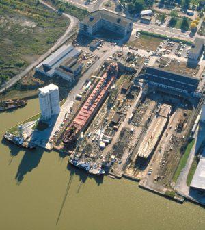 port of toledo sediment lake erie