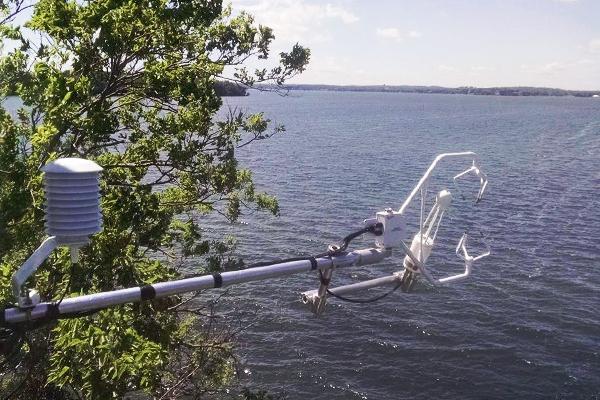 Lake Mendota greenhouse gas emissions
