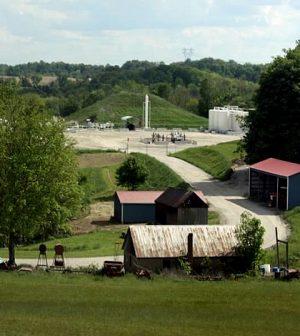 fracking methane in groundwater