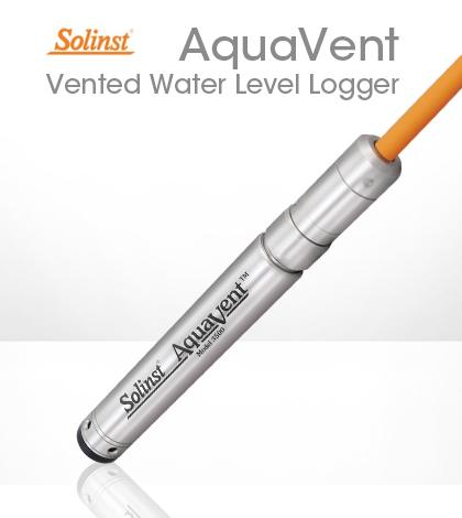 solinst aquavent vented water level logger