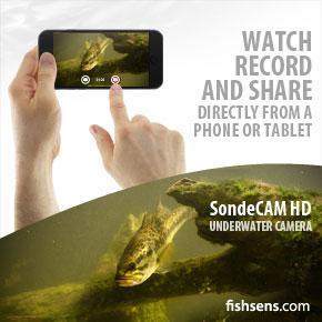 FishSens SondeCAM HD App