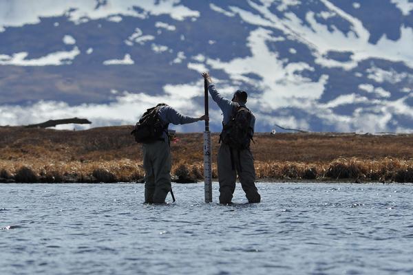handheld water quality meters permafrost