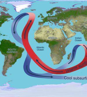 Atlantic Ocean overturning circulation