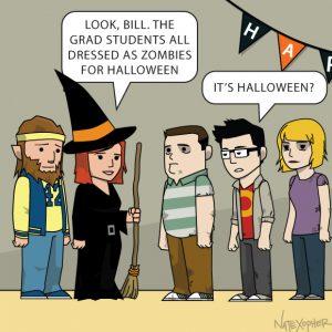 Zombie Grad Students