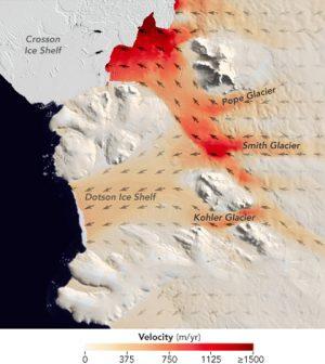 west antarctica glacier melt