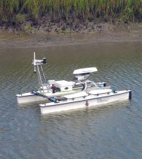 unmanned surface vehicle coastal marshes