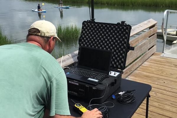 unmanned surface vehicle coastal marshes