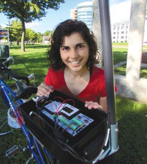 weather bikes urban heat island
