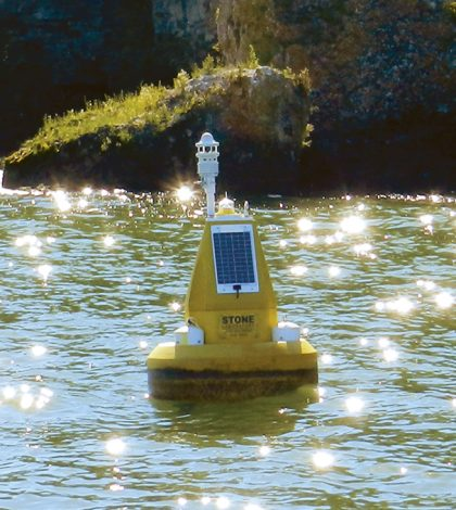 cellular data logger cellular data buoy Stone Lab