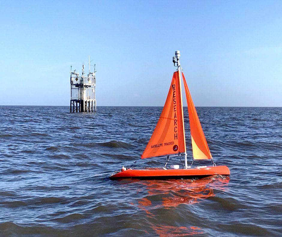 algae boat