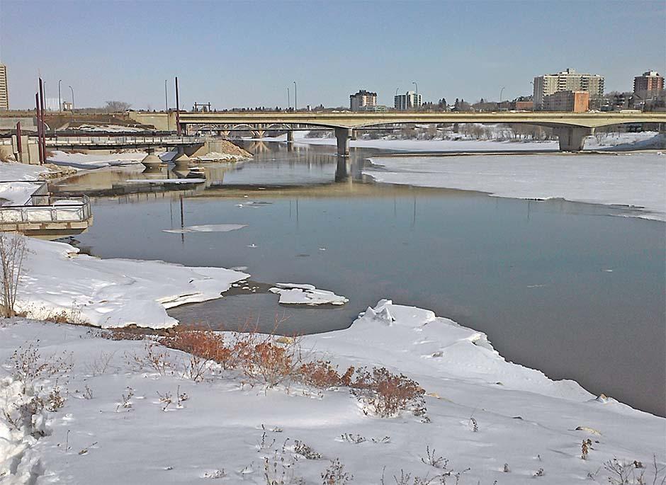 Saskatoon runoff