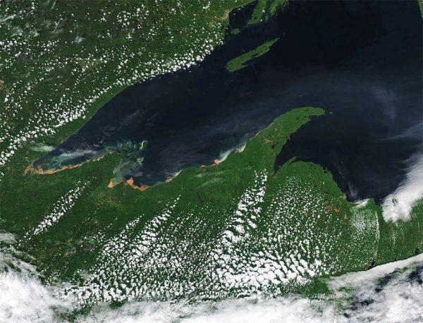 Lake Superior Algal Blooms